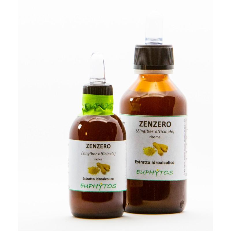 Estratto idroalcolico biologico di Zenzero