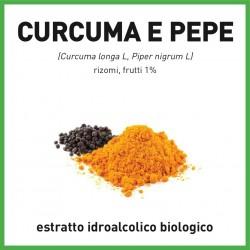 estratto idroalcolico di curcuma e pepe