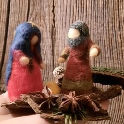 Presepe, in lana.