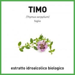 Estratto idroalcolico biologico di Timo Serpillo